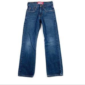 Levi's 514 Boys Jeans 10 Slim 23x 25  EUC